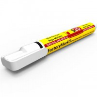 FactoryMark™ S20 13cm³ White Permanent Paint Marker