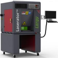 Laserator Sınıf-1 LARGY-OTF-R Zeminüstü Döner Tablalı Lazer Markalama Makinası